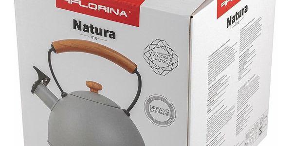 Florina Nerezový čajník Natura Line 2,3 l, šedá3