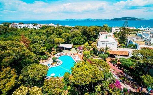 Ischia, Hotel Pineta - pobytový zájezd, Ischia