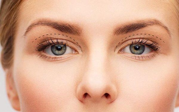 Záloha na redukci kůže či plastickou operaci víček
