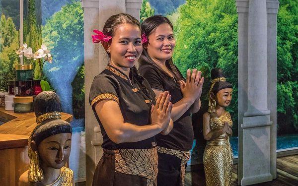70 minut relaxace: thajská masáž a spa dle výběru4