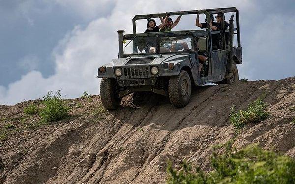 Řízení Humvee + safari jízda, 20 minut , počet osob: 1 řidič + 3 spolujezdci, Praha 9 - Horní Počernice (Praha)4