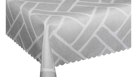 Forbyt Ubrus s nešpinivou úpravou Boni šedá, 120 x 140 cm