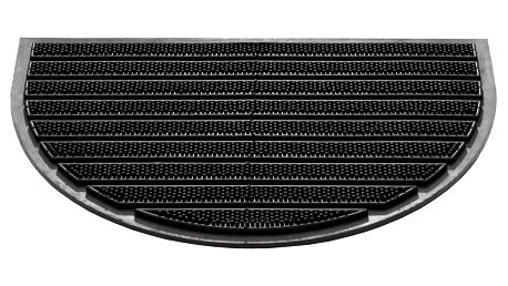 Vopi Rohožka Compact půlkruh 200, 40 x 60 cm