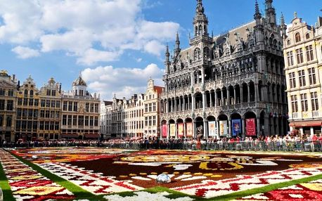 Vzrušující Brusel a moderní hotel se skvělým spojením do centra 3 dny / 2 noci, 2 os., snídaně