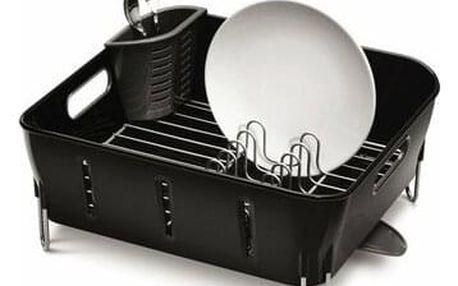 Simplehuman Odkapávač na nádobí Compact, černá
