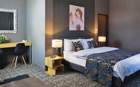 Designový hotel v Mariánkách se stravou a wellness