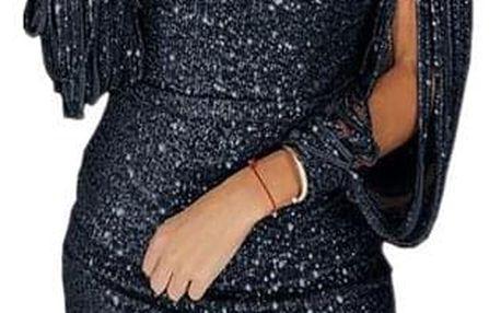 Dámské šaty Josephina Černá - velikost č. 7 - dodání do 2 dnů
