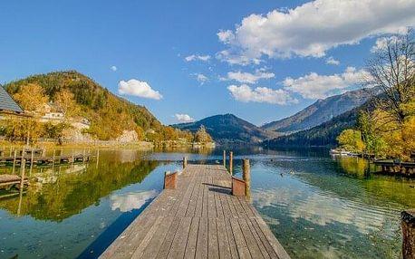 Rakouské Alpy u Hochkaru a solných bazénů v českém Penzionu Sun se snídaní, kávou a čajem + půjčení kol