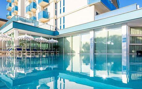 3* Hotel Parigi, 50 m od moře, s bazénem a snídaní