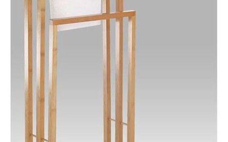 Bambusový stojan na ručníky, 42 x 82 cm