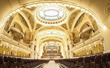 Otevřené vstupenky na koncerty ve Smetanově síni