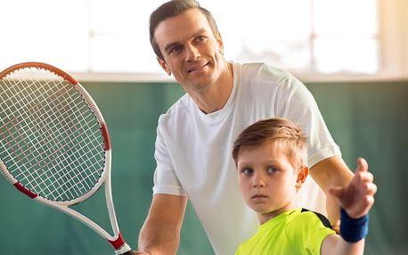 Příměstský tenisový kemp: 1 nebo 5 dnů