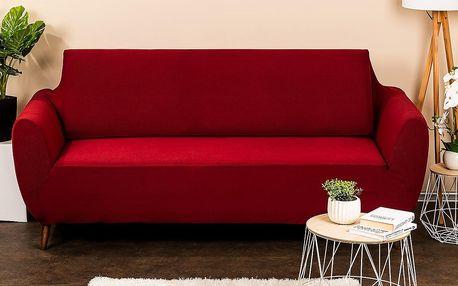 4Home Multielastický potah na sedací soupravu Comfort bordó, 180 - 220 cm