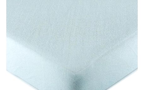 4Home jersey prostěradlo světle modrá, 90 x 200 cm