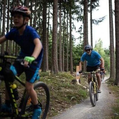 Floutrejl Lipno: kurz jízdy na kole s instruktorem