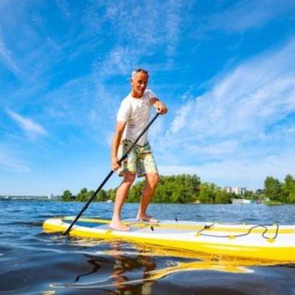 Českým Švýcarskem na koloběžce a paddleboardu