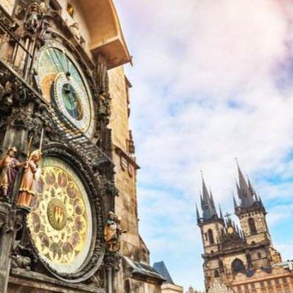 Procházka Prahou včetně vstupenky na Orloj
