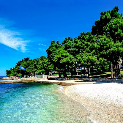 Zájezd Chorvatsko, Poreč   Jednodenní koupání   Oceněná pláž   Autobusový zájezd