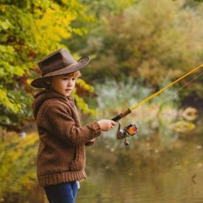 Čtyřhodinový kurz rybolovu pro děti v Bečově nad Teplou