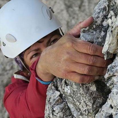 Základy skalního lezení s instruktorem v Praze