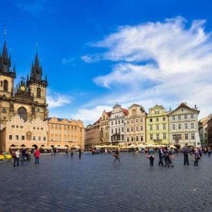 1,5hod na e-koloběžce po centru Prahy s vyzvednutím
