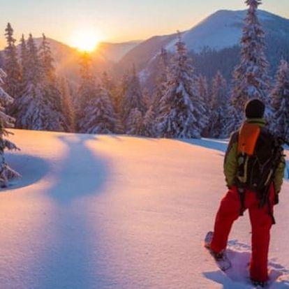 Zimní kurz přežití v Krkonoších