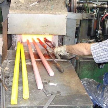 Dvouhodinový kurz ručního mačkání skla v Pěnčíně