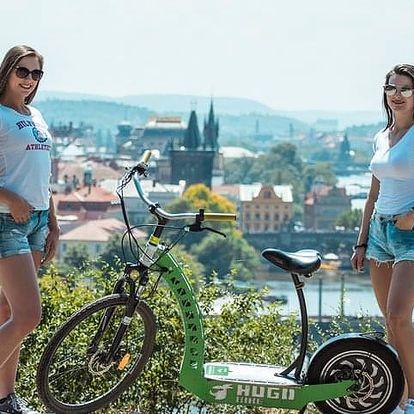 3-hodinová projížďka s průvodcem na e-skútru Prahou