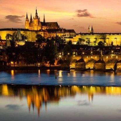 Plavba po Praze s večeří a živou hudbou