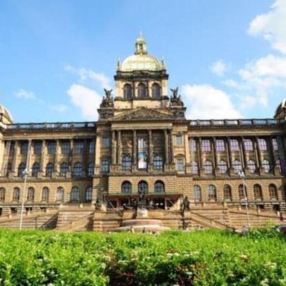 Procházka Prahou a vstup do Národního muzea