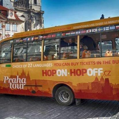Hop On-Hop Off: prohlídka Prahy autobusem