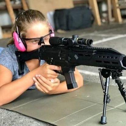 Hodina zážitkové střelby poblíž Kolína pro děti