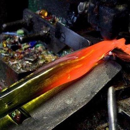 Tříhodinový kurz ručního mačkání skla v Pěnčíně