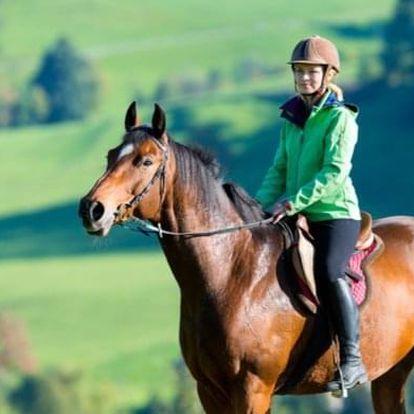 Vyjížďka na koni národním parkem České Švýcarsko