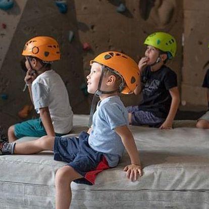 Zážitkové lezení pro děti s instruktorem v Praze