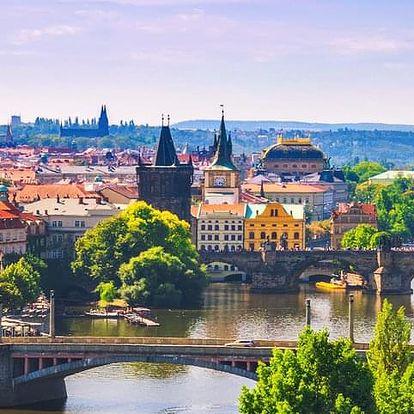 3-hodinová projížďka na e-skútru Prahou