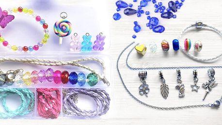 Kreativní sady šperků pro malé i velké slečny