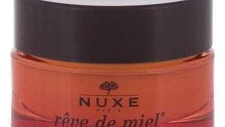 NUXE Rêve de Miel Honey Bee Happy Edition 15 g vyživující balzám na popraskané rty pro ženy