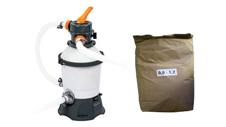 Bestway 58515 STANDARD PLUS 3028 l-hod model 2020 s filtračním pískem 25 kg