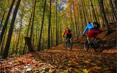 Dovolená na Moravě: via ferrata a horská kola