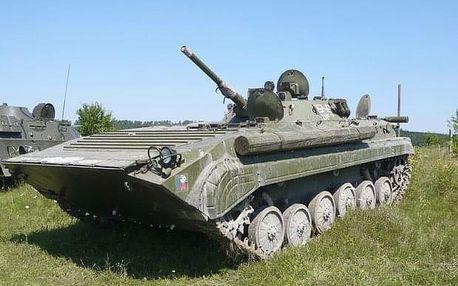 Pasažérem v BMP v blízkosti Prahy
