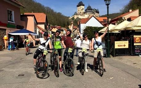 Cyklovýlet na Karlštejn z Prahy