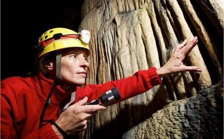 Zážitek v jeskyni v Moravském krasu