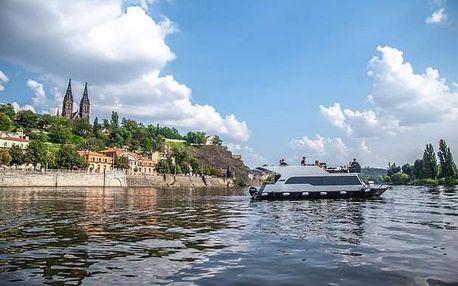 Soukromá 5hodinová plavba luxusní lodí po Vltavě