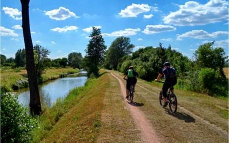 Výlet na kole z Prahy do Českého Krumlova