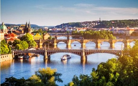 Pražské vyhlídky na e-koloběžce