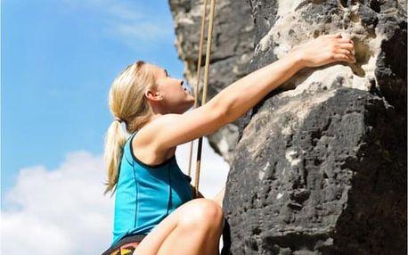 Kurz lezení pro pokročilé v Tiských stěnách