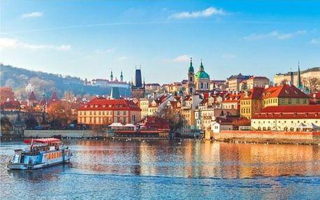Plavba lodí po Praze s obědem a krásnými výhledy