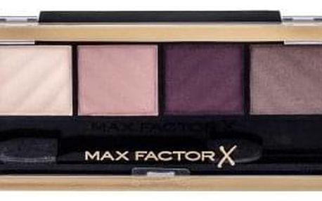 Max Factor Smokey Eye Drama Matte 1,8 g paletka matných očních stínů pro kouřové líčení pro ženy 20 Rich Roses