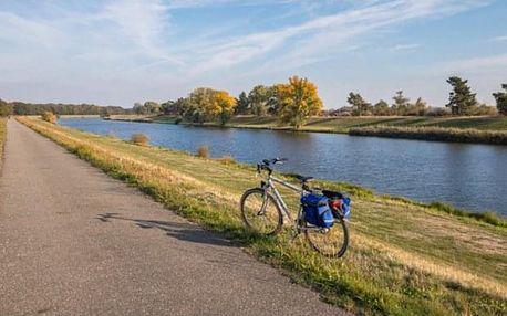 Výlet na kole podél Labe z Prahy do Drážďan